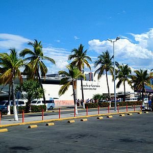 Licenciado Gustavo Díaz Ordaz International Airport -  Airport's exterior in 2015
