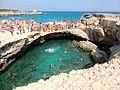 Puglia, Salento, Grotta della Poesia a Roca Vecchia.jpg