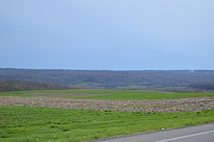 Pulaski Township, Lawrence County, Pennsylvania - Hills in the township's east