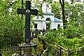 Pushkin. Kazan cemetery. Grave of V. F. Bely (1854-1913), major General of the artillery, hero of the defense of Port Arthur.jpg