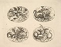 Putti with Sea Monsters, plates from the Neue Grotessken Buch MET DP828574.jpg