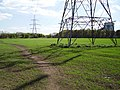 Pylon and arable land, Cockenzie - geograph.org.uk - 164366.jpg