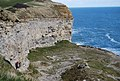Quarry face, Dancing ledge - geograph.org.uk - 766201.jpg