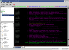 Screenshot of Quassel IRC on OS/2 Warp 4.52
