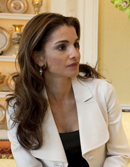 Queen Rania in Washington, DC