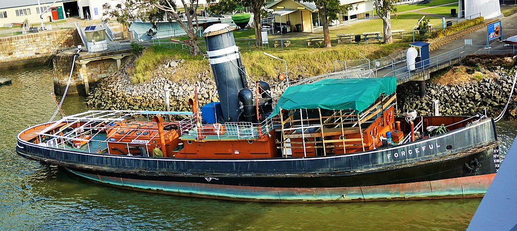 Queensland Maritime Museum - Freedom - Forceful - Tugboat