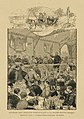 Réunion des zouaves pontificaux à la Basse-Motte (Bretagne) - Arrivée des invités - Le général Charette prononçant son discours.jpg