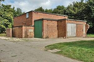 RAF Metheringham - Image: RAF Metheringham Standby Generator House