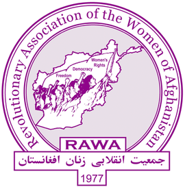 Logo of the Revolutionary Association of the Women of Afghanistan
