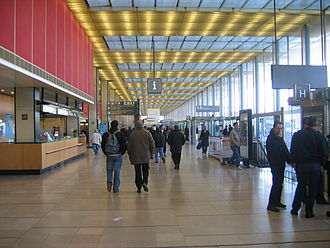 Orly Airport - Interior of Terminal South