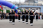 ROCN Honor Guard Drilling at Keelung Naval Pier Ground 20150316a.jpg