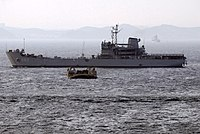 ROK LST682 behind a LCAC.jpg