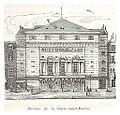 Category th tre de la porte saint martin wikimedia commons - Theatre de la porte saint martin plan ...