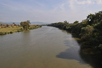 Mureș (river) - Image: RO HD Soimus Mures River 2