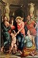 Raffaellino del Colle, La Madonna del Soccorso e i Santi Giovanni Battista e Cristoforo 01.jpg