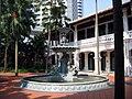 Raffles Hotel fountain from side 2004.jpg