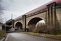 Railroad bridge Schaumburgstrasse Leinhaeuser Weg Leinhausen Herrenhausen Hannover Germany 02.jpg