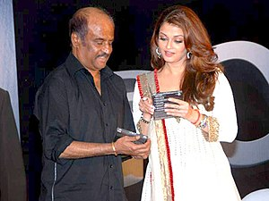 Enthiran - Image: Rajini and Aishwarya Rai