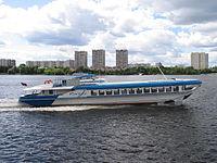 Raketa-185 on Khimki Reservoir 18-jul-2012 01.JPG