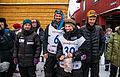 Ralph Johannessen, Arnt Ola Skjerve, Thomas Wærner og Sigrid Ekran i mål på Røros (8443644791).jpg