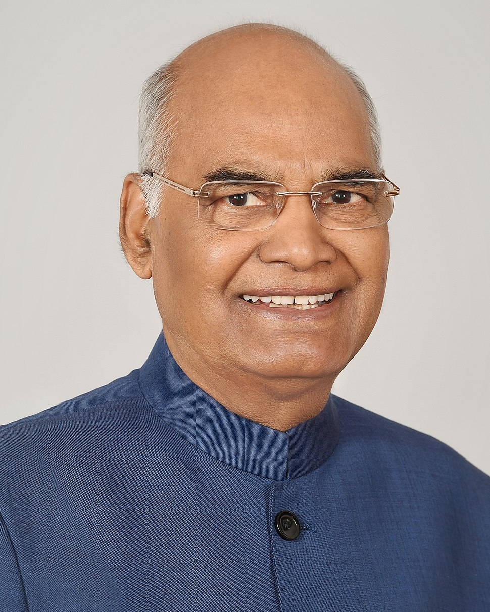 Ram Nath Kovind official portrait
