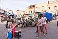 Random people of marrakech in the inner streets near the jamae fna square.jpg