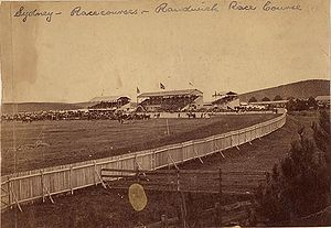 Randwick Racecourse - Randwick Racecourse in 1863