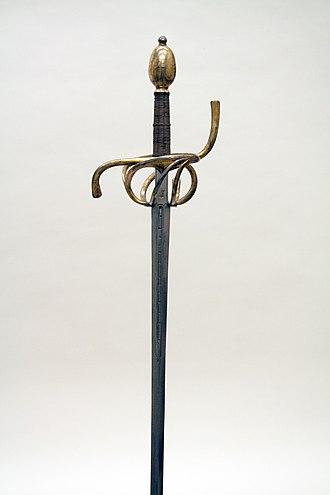 Stage combat - Rapier sword.