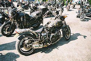 rat bikes at the uk rat and survival bike rally 2005