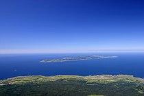 Rebun island seen from Rishiri island.jpg