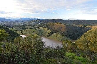 Rector Reservoir - Image: Rector Reservoir January