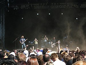 The Red Jumpsuit Apparatus - The Red Jumpsuit Apparatus performing at 2009 Soundwave Festival