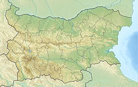 Map showing the location of Pirin National Park