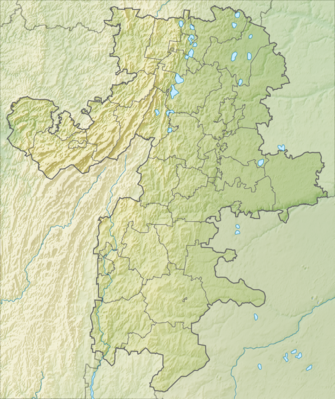 Location map Russia Chelyabinsk Oblast