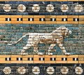 Relief on the Ishtar Gate, Pergamenmuseum 4.jpg