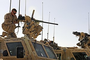Protector (RWS) - Image: Remote Weapons Station on a Canadian Nyala a