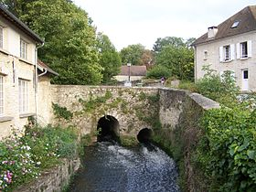Le Ru de Gally à Rennemoulin.