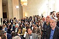 Reporters Await Secretary Kerry and Italian Foreign Minister Bonino (8722764975).jpg