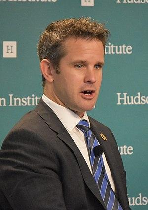 Adam Kinzinger - Kinzinger speaking at Hudson Institute.