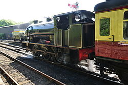 Repulse at Haverthwaite railway station (6589).jpg