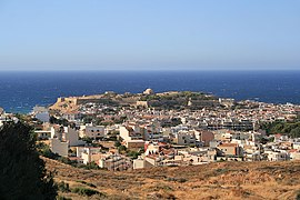 View of Rethymno from the fortress.