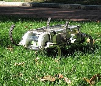 Bio-inspired robotics - Rhex: a Reliable Hexapedal Robot