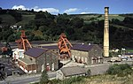 Former Lewis Merthyr Colliery Bertie winding engine house