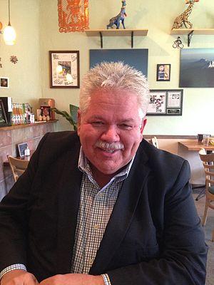 Rick Sebak - Sebak in La Palapa, one of his favorite restaurants in Pittsburgh's South Side