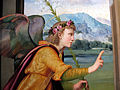 Ridolfo del ghirlandaio, annunciazione, 1515 ca, da pieve di s. pietro a pitiana (reggello) 04.JPG