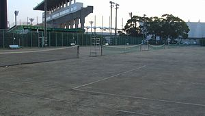 Rinkai First Tennis Court (Clay) at Ichiharari...