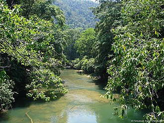 Sarstoon River - Image: Rio Sarstun Guatemala
