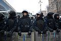 Riot police blocking access to Khreschatyk street and Euromaidan.jpg