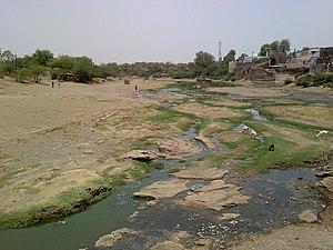 Nandura - River Dnyanganga at Nandura