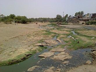Dnyanganga River - Dnyanganga at Nandura